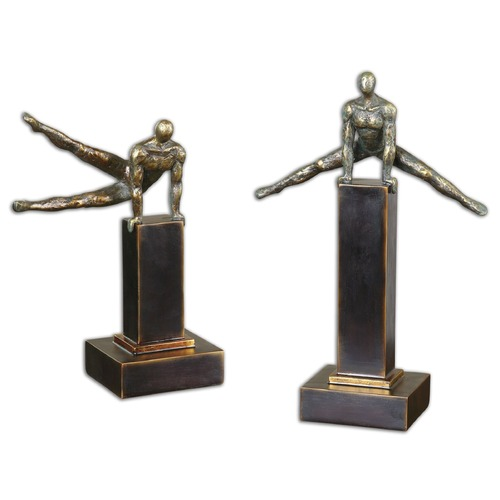 Uttermost Lighting Uttermost Pommel Sculptures, Set of 2 19897
