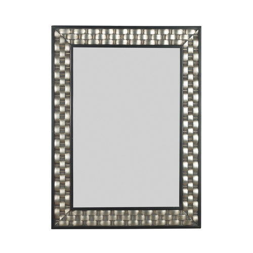 Kenroy Home Lighting Checker Rectangle 28-Inch Mirror 60013