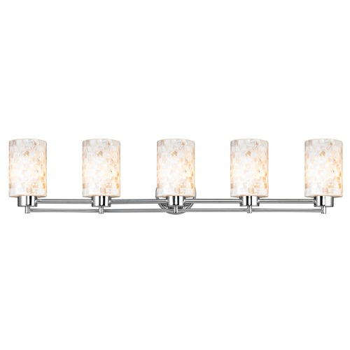 Design Classics Lighting Design Classics Salida Fuse Chrome Bathroom Light 706-26 GL1026C