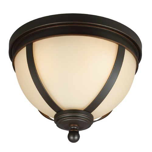 Sea Gull Lighting Sea Gull Lighting Sfera Autumn Bronze Flushmount Light 7590403-715