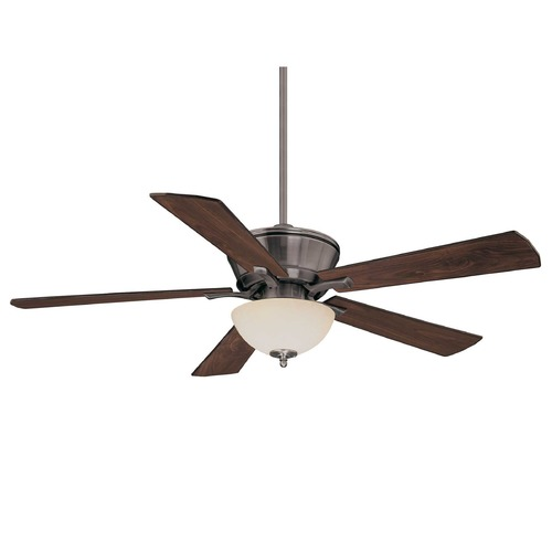 Savoy House Savoy House Brushed Pewter Ceiling Fan with Light 52P-646-5RV-187
