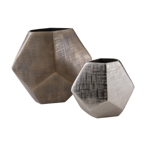 Dimond Home Faceted Cube Vases 178-028/S2