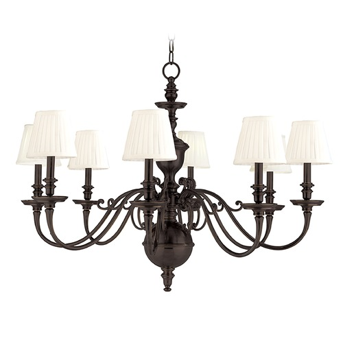 Hudson Valley Lighting Hudson Valley Lighting Charleston Old Bronze Chandelier 1748-OB