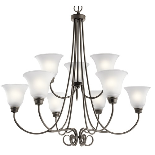 Kichler Lighting Kichler Lighting Bixler Olde Bronze Chandelier 43939OZ