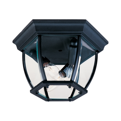 Maxim Lighting Maxim Lighting Maxim Black Close To Ceiling Light 1029BK