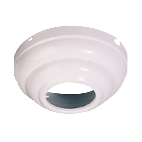 Monte Carlo Fans Ceiling Adaptor in White Finish MC95WH
