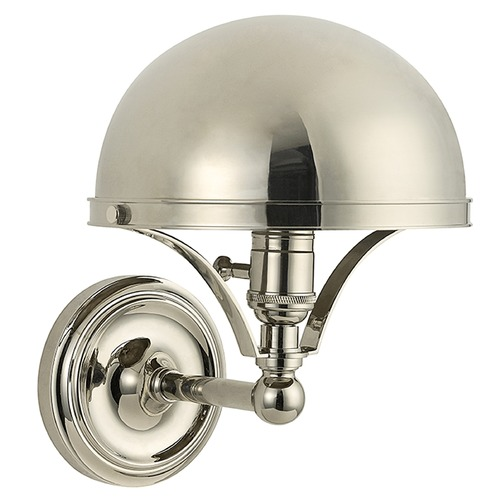 Hudson Valley Lighting Covington 1 Light Sconce - Polished Nickel 521-PN