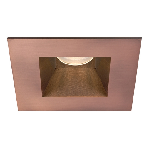 WAC Lighting Wac Lighting Copper Bronze LED Recessed Trim HR-3LED-T718S-C-CB