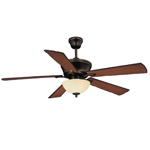 Savoy House Savoy House Old Bronze Ceiling Fan with Light 52P-646-5RV-323