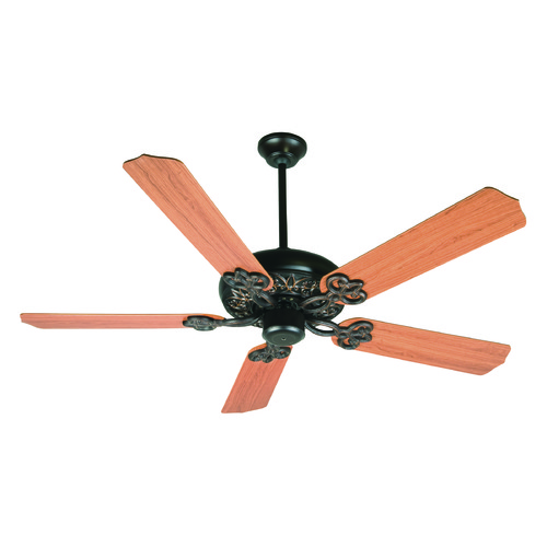 Craftmade Lighting Craftmade Lighting Cecilia Oiled Bronze Gilded Ceiling Fan Without Light K10437