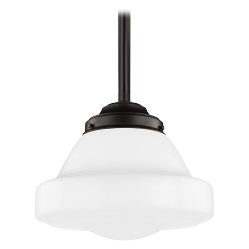 Feiss Lighting Feiss Alcott Oil Rubbed Bronze LED Pendant Light P1381ORB-LED
