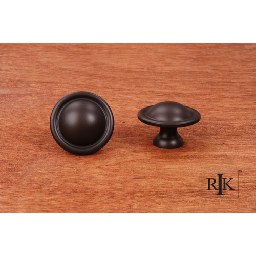 RK International Large Smooth Dome Knob CK9304RB