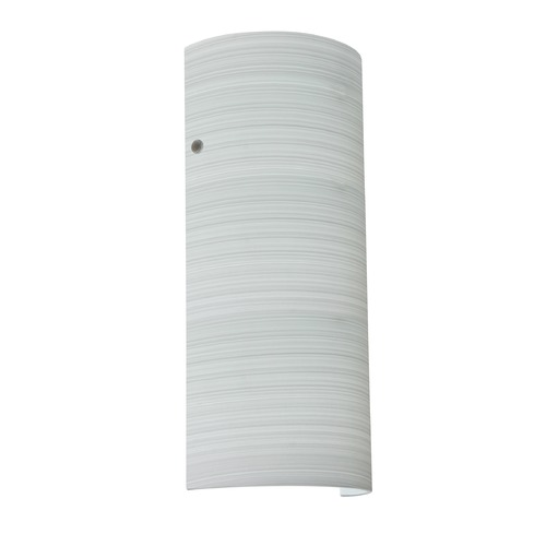 Besa Lighting Besa Lighting Torre Satin Nickel LED Sconce 8192KR-LED-SN