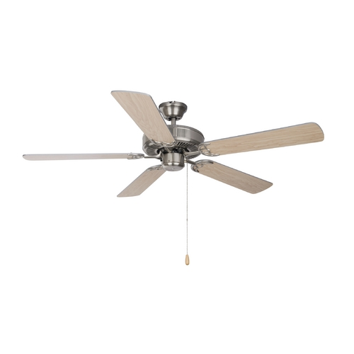 Maxim Lighting Ceiling Fan in Satin Nickel Finish 89905SN