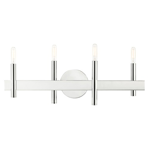 Livex Lighting Livex Lighting Denmark Polished Chrome Bathroom Light 15584-05