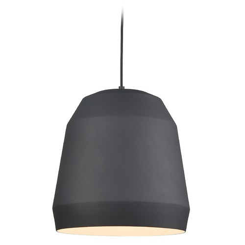 Kuzco Lighting Kuzco Lighting Sedona Black Pendant Light with Bowl / Dome Shade 492122-BK