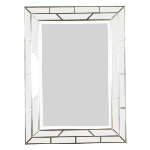 Kenroy Home Lighting Lens Rectangle 28-Inch Mirror 60015