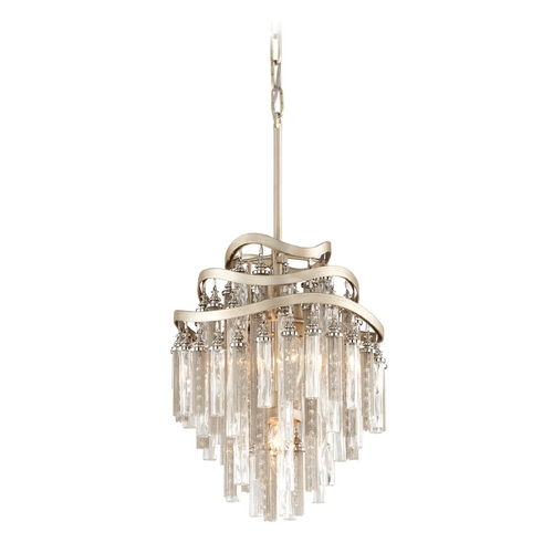 Corbett Lighting Corbett Lighting Chimera Tranquility Silver Leaf Pendant Light 176-43
