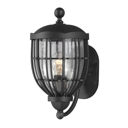 Feiss Lighting Feiss Lighting River North Textured Black Outdoor Wall Light OL9801TXB