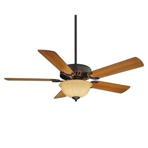 Savoy House Savoy House English Bronze Ceiling Fan with Light 52-SGB-5RV-13