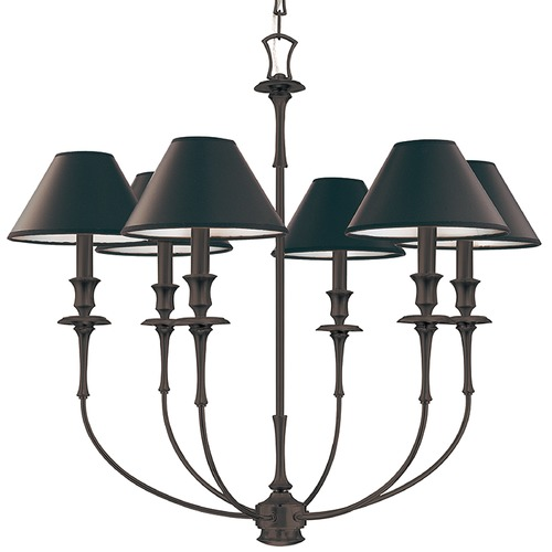Hudson Valley Lighting Hudson Valley Jasper 6-Light Chandelier in Old Bronze 1866-OB