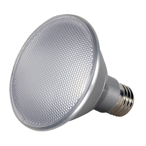 Satco Lighting 13W Medium Base LED Bulb PAR30 25 Degree Beam Spread 1000LM 3000K Dimmable S9411