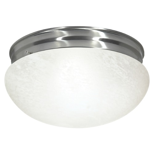 Nuvo Lighting Nuvo Lighting Brushed Nickel Flushmount Light SF76/677
