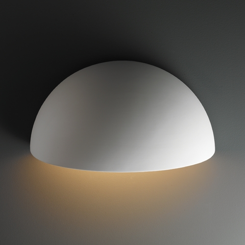 Justice Design Group Outdoor Wall Light in Bisque Finish CER-1100W-BIS