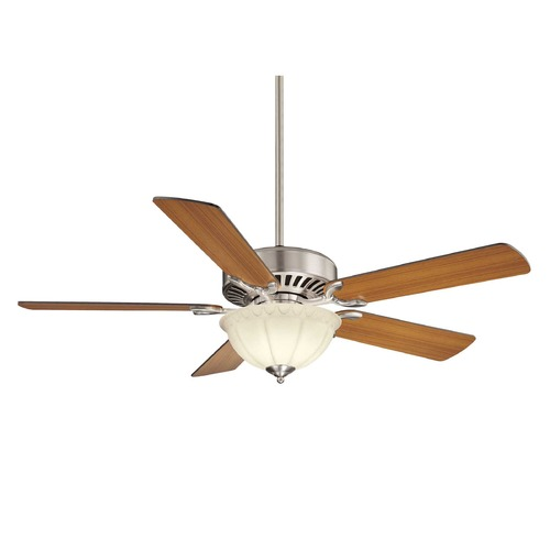 Savoy House Savoy House Satin Nickel Ceiling Fan with Light 52-SGB-5RV-SN