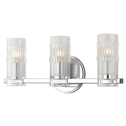 Hudson Valley Lighting Malone 3 Light Bathroom Light - Polished Chrome 2023-PC