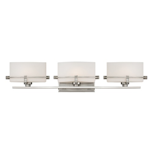 Quoizel Lighting Quoizel Lighting Nolan Brushed Nickel Bathroom Light NN8603BNLED