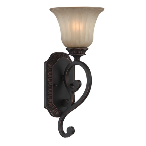 Lite Source Lighting Lite Source Crescentia Antique Bronze Sconce C71347-W