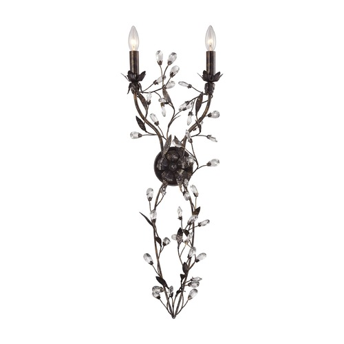 Elk Lighting Elk Lighting Circeo Deep Rust Sconce 18128/2