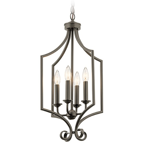 Kichler Lighting Kichler Lighting Bixler Olde Bronze Pendant Light 43940OZ