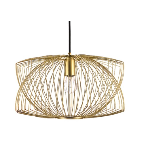 Nuevo Lighting Nuevo Lighting Helio Pendant Light in Matte Gold HGMO194