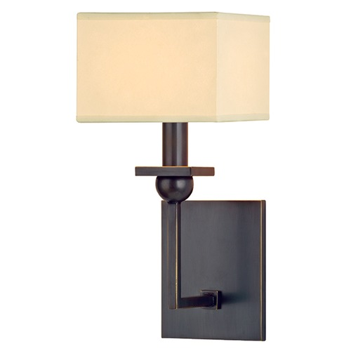 Hudson Valley Lighting Morris 1 Light Sconce Square Shade - Old Bronze 5211-OB