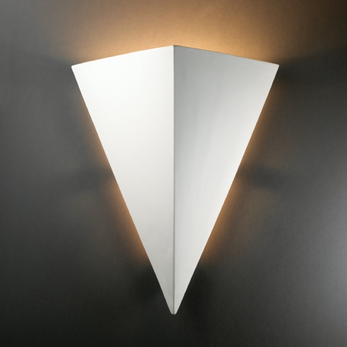 Justice Design Group Outdoor Wall Light in Bisque Finish CER-1140W-BIS