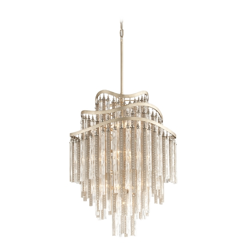 Corbett Lighting Corbett Lighting Chimera Tranquility Silver Leaf Pendant Light 176-710