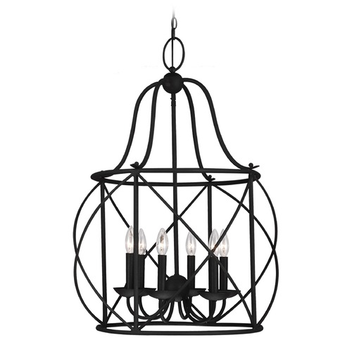 Sea Gull Lighting Sea Gull Lighting Turbinio Blacksmith Pendant Light 5116406-839