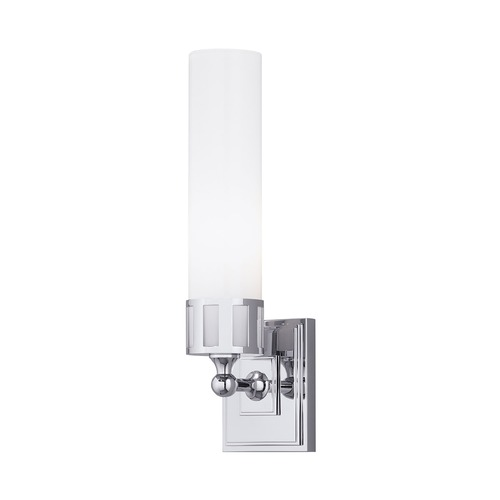 Norwell Lighting Norwell Lighting Astro Polished Nickel Sconce 9651-PN-SO