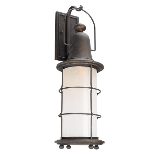 Troy Lighting Troy Lighting Maritime Vintage Bronze Outdoor Wall Light BF4443