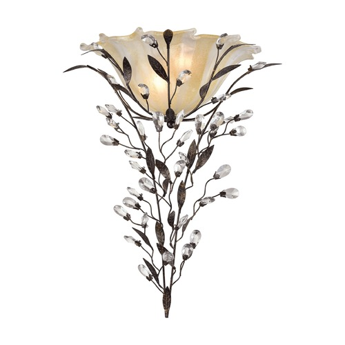 Elk Lighting Elk Lighting Circeo Deep Rust Sconce 18129/2