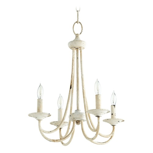 Quorum Lighting Quorum Lighting Brooks Persian White Mini-Chandelier 6050-4-70