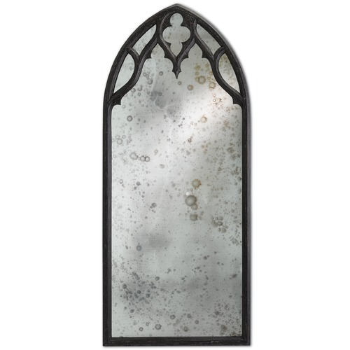 Currey and Company Lighting Temple Rectangle 32-Inch Mirror 1000-0001