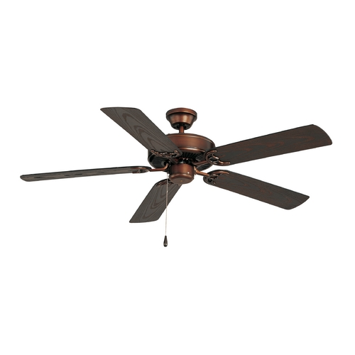 Maxim Lighting Ceiling Fan Without Light in Oil Rubbed Bronze Finish 89915OI