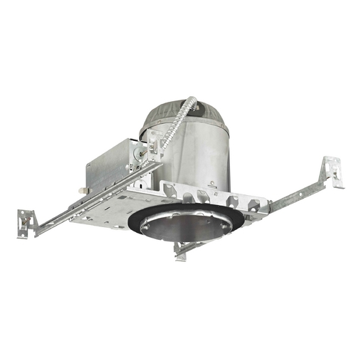 Recesso Lighting by Dolan Designs 5-Inch New Construction E26 Recessed Can Light IC & Airtight Flat Ceiling IC5