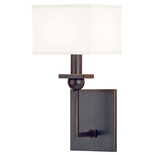 Hudson Valley Lighting Morris 1 Light Sconce Square Shade - Old Bronze 5211-OB-WS