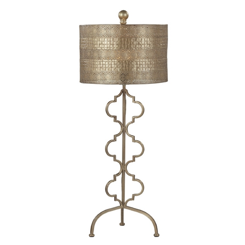 Dimond Lighting Table Lamp in Gold Leaf Finish 138-014