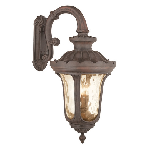 Livex Lighting Livex Lighting Oxford Imperial Bronze Outdoor Wall Light 76702-58