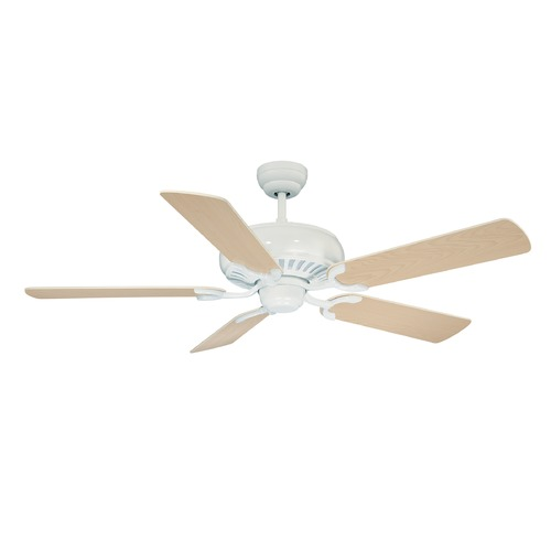Savoy House Savoy House Matte White Ceiling Fan Without Light 52-SGC-5RV-80